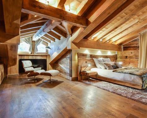 chambre de chalet chambre de chalet en bois idées chambres