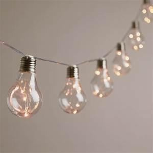 LED Light Bulb String Lights - Shelmerdine Garden Center