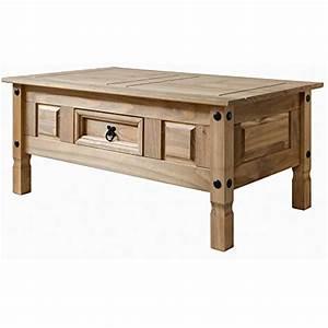 Couchtisch Holz Mit Schublade : couchtisch holz wohnzimmertisch tisch aus massiv kieferholz mit schublade gebeizt gewachst ~ Bigdaddyawards.com Haus und Dekorationen
