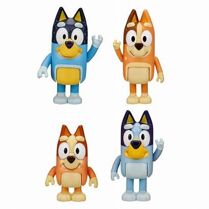 Bluey Figures Pack Playset Toys Bbq Bundle