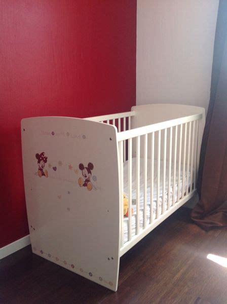 chambre bébé mickey commode sauthon langer clasf