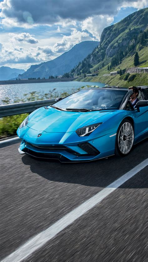 lamborghini aventador  roadster hd  wallpaper