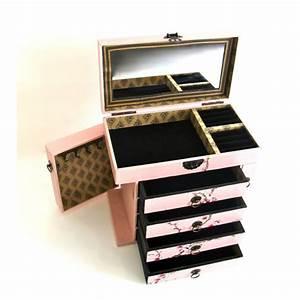 Coffret A Bijoux : coffret bijoux en bois prunier style japonais ~ Teatrodelosmanantiales.com Idées de Décoration