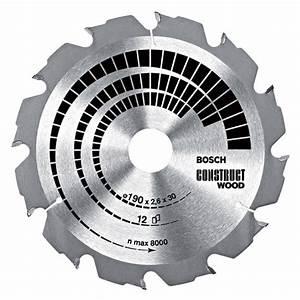 Lames Scie Circulaire : lame de scie circulaire bois clout bosch ~ Edinachiropracticcenter.com Idées de Décoration