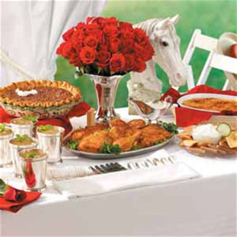 kentucky derby menu ideas kentucky derby party plan taste of home