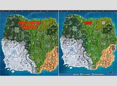 Fortnite fan makes a discovery about the snow on the map