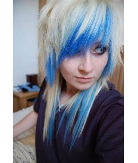 Best 25 Blue Hair Underneath Ideas Only On Pinterest