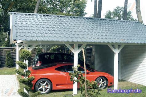 Carport Dach Holz Oder Blech Bvraocom