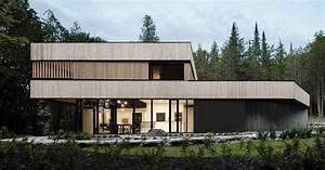 Maison bois ultra contemporaine à l'architecture passive au Canada Build Green