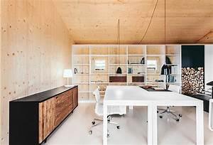 maison moderne en bois With meuble sdbain