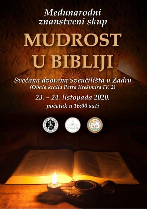 """Pregled znanstvenog simpozija """"Mudrost u Bibliji"""