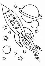 Coloring Night Preschoolers Getdrawings Printable Getcolorings Spaceships Drawing sketch template