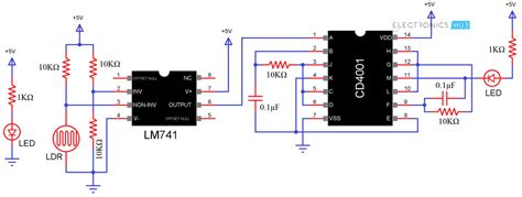 Led Circuit Diagram Letter electronic letter box project circuit and its working