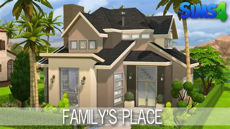 the sims 4 house building family s place speed build