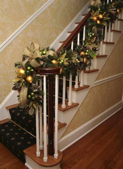 Ideas  Decorar Escaleras En Navidad  Decoracion De