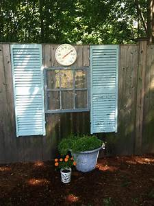 38, Best, Old, Shutter, Outdoor, Decor, Ideas, And, Designs, For, 2020