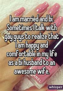 Wife of bisexual husband