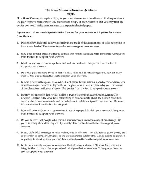 an essay on the crucible argumentative essay intro