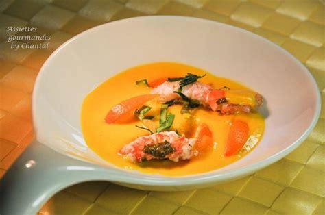 livre cuisine chef bouillon de carottes citronnelle et langoustines recette