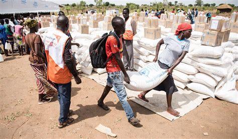providing south sudan aid  crisis spreads world vision