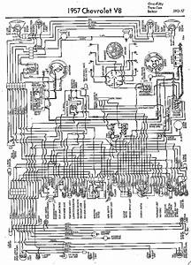 Wiring Diagrams Of 1957 Chevrolet V8  60063