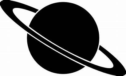 Planets Planet Silhouette Space Clipart Stencils Cut