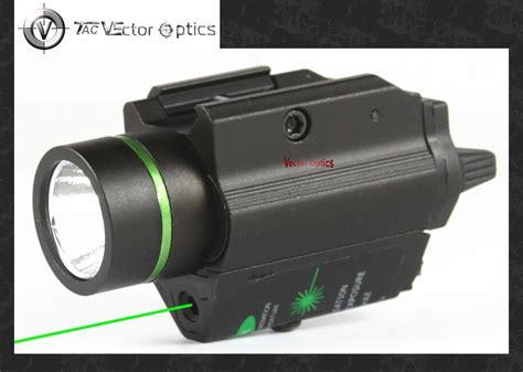 pistol light laser vectop optics doublecross tactical led pistol flashlight
