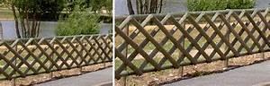Cloture De Jardin : cloture jardin bois rondino cloture pour amenagement ~ Premium-room.com Idées de Décoration