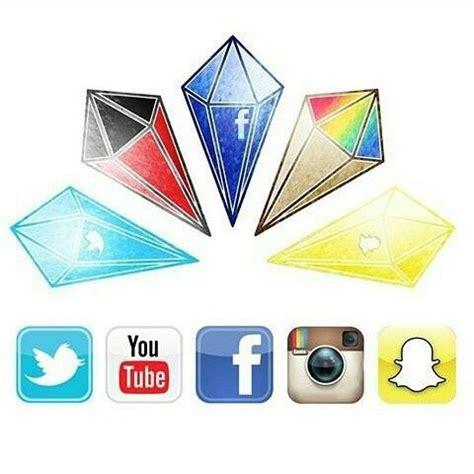 social media diamonds drawing  painting
