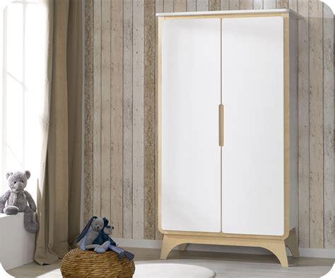 pouf chambre fille armoire bébé pepper blanche et bois