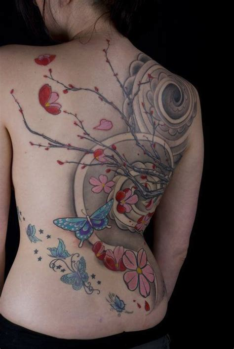 17 best images about cherry 100 cherry blossom tattoos blue