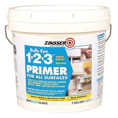 Zinsser Bulls Eye 123 2gal White Water Based Interior