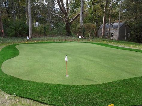 Backyard Artificial Putting Green - pictures of backyard putting greens synthetic turf