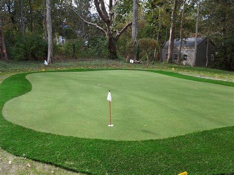 Custom Backyard Putting Greens In Ma, Nh, Ny, Ct, & Ri