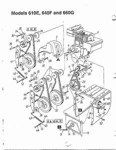 Snow Thrower Diagram  U0026 Parts List For Model 313610e000 Mtd