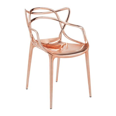 chaise kartell masters buy kartell masters chair copper amara