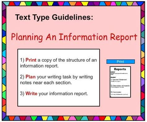report writing structure skills