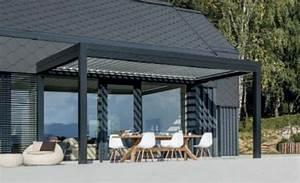 Terrassen Sonnenschutz Elektrisch : pergola mit verstellbaren lamellen lamellen sichtschutz pergola ims4 biel benken pergola mit ~ Sanjose-hotels-ca.com Haus und Dekorationen