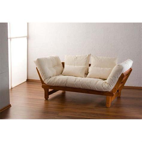 canapé lit bois canape en bois massif 28 images canape bois massif et