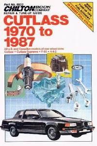 Chilton Oldsmobile Cutlass 1970