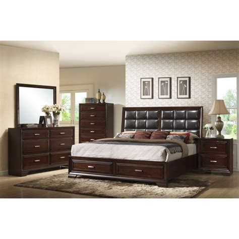 crown bedroom set jacob 4pc bedroom set by crown