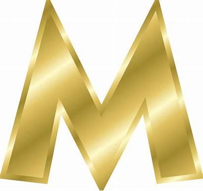 Alphabet Letters Gold Effect Clip Onlinelabels
