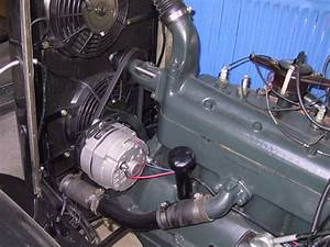 1930 Ford Generator To 12si Alternator Conversion