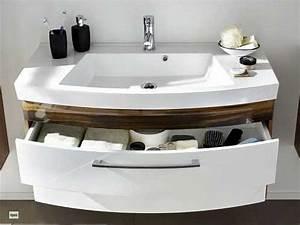 Waschbecken Mit Unterschrank Modern : waschplatz 100cm bad waschtisch softeinzug mit waschbecken unterschrank 5870 ebay ~ Markanthonyermac.com Haus und Dekorationen