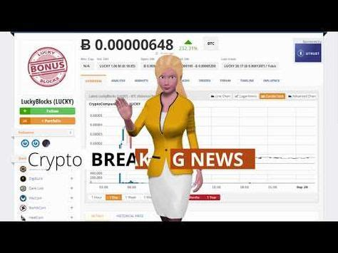 The new and best way to claim your free bitcoin, from the creators of the longest running. LuckyBlocks LUCKY Appreciates 232 Percent Over the Last 24 Hours $LUCKY #LuckyBlocks(LUCKY) $BCH ...