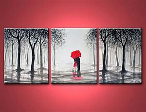custom 80 black white and red wall art decorating With kitchen colors with white cabinets with red umbrella canvas wall art