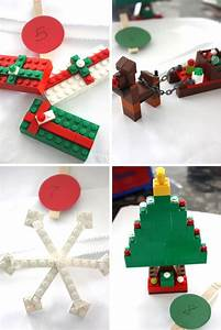 LEGO Ornaments & Christmas Makes - Fun Crafts Kids