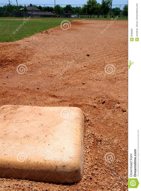 baseball base bag  infield stock images image