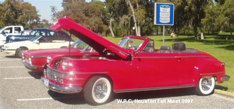Walter P Chrysler Club by Walter P Chrysler Club Houston Region Fall Meet 2007