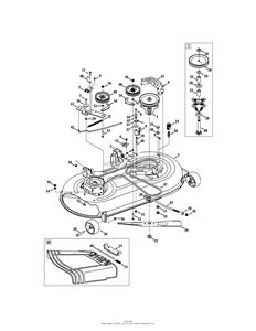 solved troy bilt bronco cutting deck diagram model fixya